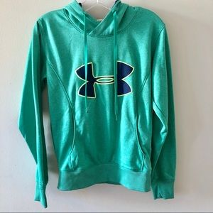Under Armour Teal Hoodie Sml